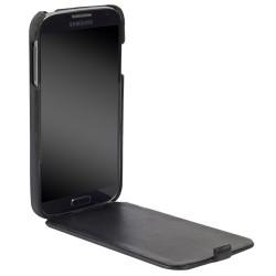 Кожен калъф с капак за Samsung Galaxy S4