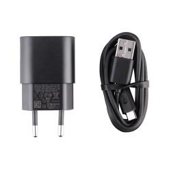 Nokia Fast USB Charger AC-60E 1.5A - захранване за ел. мрежа и кабел microUSB за мобилни телефони Nokia