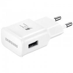 Захранване (2.1A) за бързо зареждане (Fast Charger) за Samsung телефони и таблети (EP-TA20EWE) (бяло)