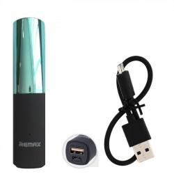 Външна батерия Remax LipMax 2400mAh (синя)