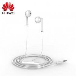 Huawei Stereo Headset AM115 3.5mm jack - оригинални слушалки с микрофон и управление на звука за Huawei мобилни устройства (бял)