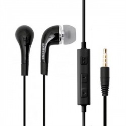 Samsung Headset EO-EG900BB - оригинални слушалки с микрофон и управление на звука за Samsung мобилни устройства (черен)