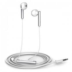 Huawei Stereo Headset AM116 3.5mm jack - оригинални слушалки с микрофон и управление на звука за Huawei мобилни устройства (бял-сребрист)