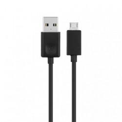 LG microUSB cable EAD62329304 - оригинален microUSB кабел за LG мобилни устройства (1 МЕТЪР) (черен)